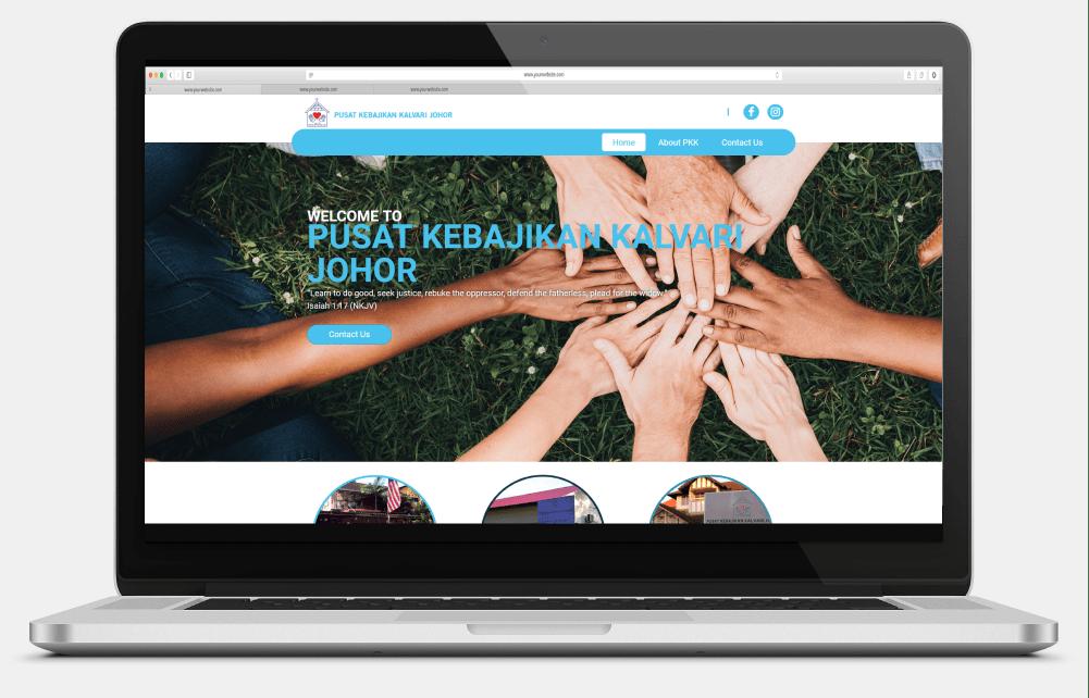 Pusat Kebajikan Kalvari (Johor) Desktop View