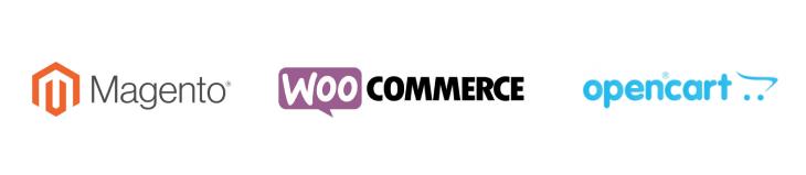 Ecommerce Customize Platform: Magento, Woocommerce, Opencart