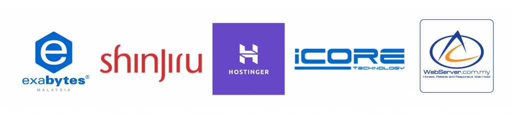 Malaysia Provider - Exabytes, shinjiru, Hostinger, ICore, Webserver